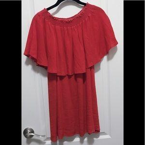 Show Me Your Mumu red XS mini dress